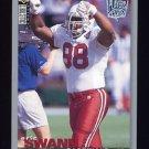 1995 Collector's Choice Player's Club #205 Eric Swann - Arizona Cardinals