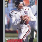 1995 Collector's Choice Player's Club #160 Jeff George - Atlanta Falcons