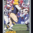 1995 Collector's Choice Player's Club #157 Sean Jones - Green Bay Packers