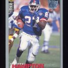 1995 Collector's Choice Player's Club #151 Rodney Hampton - New York Giants