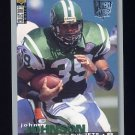 1995 Collector's Choice Player's Club #139 Johnny Johnson - New York Jets