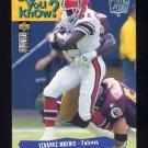 1995 Collector's Choice Player's Club #040 Terance Mathis - Atlanta Falcons