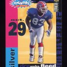 1995 Collector's Choice Crash The Game Silver TD Redemption #C24 Andre Reed - Buffalo Bills