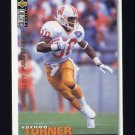 1995 Collector's Choice Football #346 Vernon Turner - Carolina Panthers