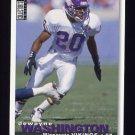 1995 Collector's Choice Football #322 Dewayne Washington - Minnesota Vikings