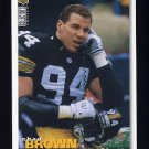 1995 Collector's Choice Football #311 Chad Brown - Pittsburgh Steelers
