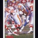1995 Collector's Choice Football #285 Greg Hill - Kansas City Chiefs