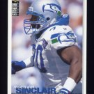 1995 Collector's Choice Football #176 Michael Sinclair - Seattle Seahawks