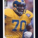 1995 Collector's Choice Football #105 Wayne Gandy - St. Louis Rams