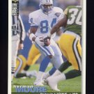 1995 Collector's Choice Football #072 Herman Moore - Detroit Lions