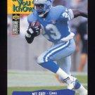 1995 Collector's Choice Football #044 Mel Gray - Detroit Lions
