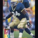 1995 Collector's Choice Football #023 Ray Zellars RC - New Orleans Saints