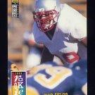 1995 Collector's Choice Football #013 Mark Fields RC - New Orleans Saints