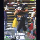 1995 Classic NFL Rookies Football #087 Christian Fauria - Seattle Seahawks