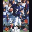 1995 Classic NFL Rookies Football #076 John Walsh - Cincinnati Bengals