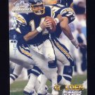 1994 Ted Williams Football #75 Dan Fouts - San Diego Chargers