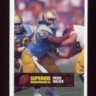 1994 Superior Rookies Football #28 Bruce Walker - Philadelphia Eagles