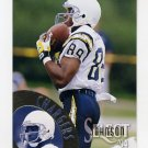 1994 Select Football #082 Vance Johnson - San Diego Chargers