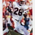 1994 Pinnacle Football #126 Harold Green - Cincinnati Bengals