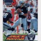 1994 Collector's Edge Silver #101 Jeff Hostetler - Los Angeles Raiders