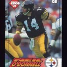 1994 Collector's Edge Football #169 Neil O'Donnell - Pittsburgh Steelers