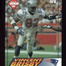 1994 Collector's Edge Football #125 Vincent Brisby - New England Patriots
