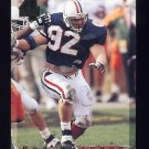 1994 Classic Four Sport Football #096 Rob Waldrop - Kansas City Chiefs