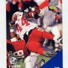 1994 Classic Football #022 Calvin Jones - Los Angeles Raiders