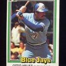 1981 Donruss Baseball #391 Otto Velez - Toronto Blue Jays