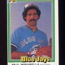 1981 Donruss Baseball #151 Paul Mirabella - Toronto Blue Jays ExMt