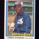 1981 Donruss Baseball #038 Lamar Johnson - Chicago White Sox