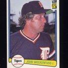 1982 Donruss Baseball #459 John Wockenfuss - Detroit Tigers