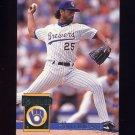 1994 Donruss Baseball #059 Ricky Bones - Milwaukee Brewers