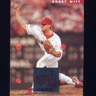 1996 Donruss Baseball #449 Bobby Witt - Texas Rangers