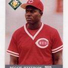 1991 Ultra Baseball #379 Reggie Jefferson - Cincinnati Reds