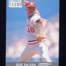 1991 Ultra Baseball #288 Jose DeLeon - St. Louis Cardinals