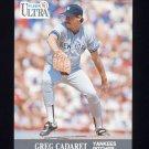 1991 Ultra Baseball #229 Greg Cadaret - New York Yankees