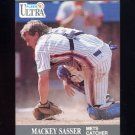 1991 Ultra Baseball #226 Mackey Sasser - New York Mets