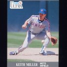 1991 Ultra Baseball #225 Keith Miller - New York Mets