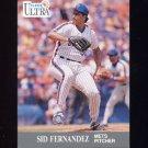 1991 Ultra Baseball #216 Sid Fernandez - New York Mets