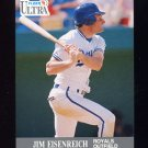1991 Ultra Baseball #146 Jim Eisenreich - Kansas City Royals