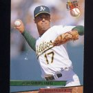 1993 Ultra Baseball #256 Ron Darling - Oakland A's