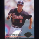 1994 Ultra Baseball #301 Brady Anderson - Baltimore Orioles