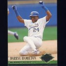 1994 Ultra Baseball #074 Darryl Hamilton - Milwaukee Brewers