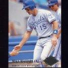 1994 Ultra Baseball #069 Mike Macfarlane - Kansas City Royals