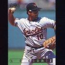 1995 Ultra Baseball #255 Leo Gomez - Baltimore Orioles