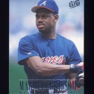 1996 Ultra Baseball #155 Marquis Grissom - Atlanta Braves
