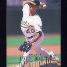 1996 Ultra Baseball #116 Ariel Prieto - Oakland A's