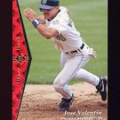 1995 SP Baseball #167 Jose Valentin - Milwaukee Brewers
