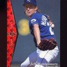 1995 SP Baseball #161 Jeff Montgomery - Kansas City Royals